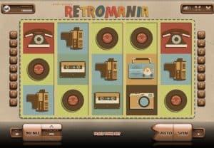 Retromania Slot Screenshot