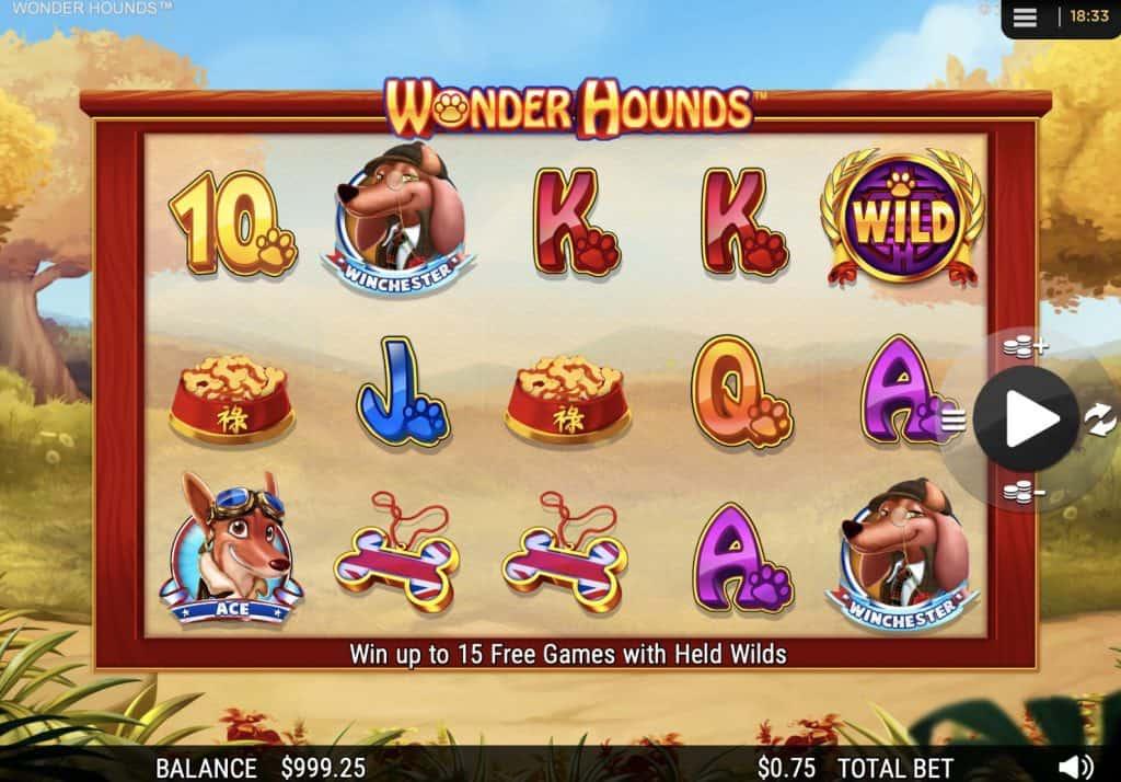 Wonder Hounds Slot Screenshot