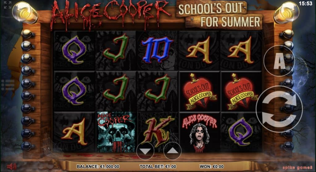 Alice Cooper Schools Out for Summer Screenshot