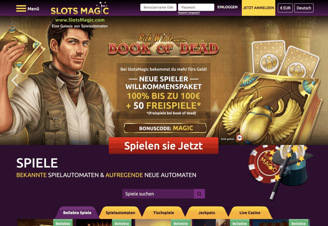 официальный сайт отзывы казино slots magic