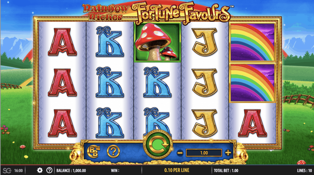 Rainbow Riches Fortune Favour