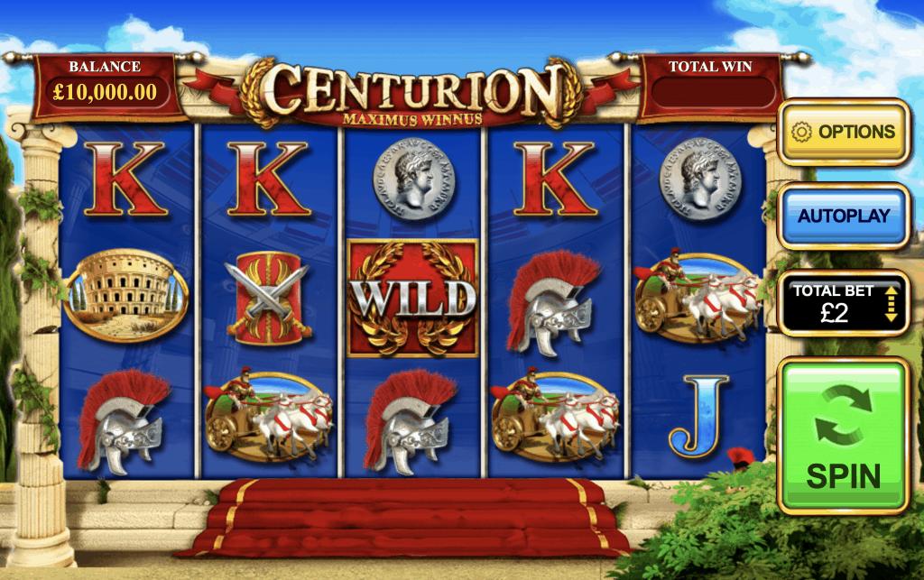 Centurion Slot Screenshot