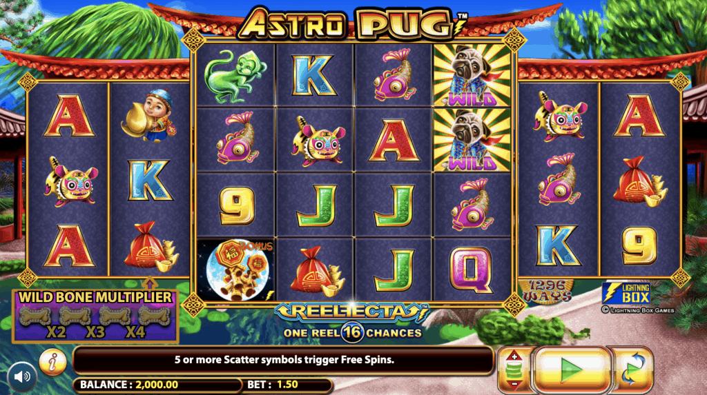 Astro Pug Slot Screenshot