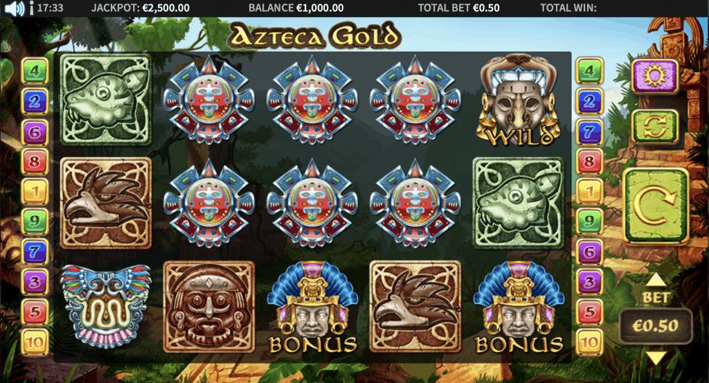 Azteca Gold Slot Screenshot