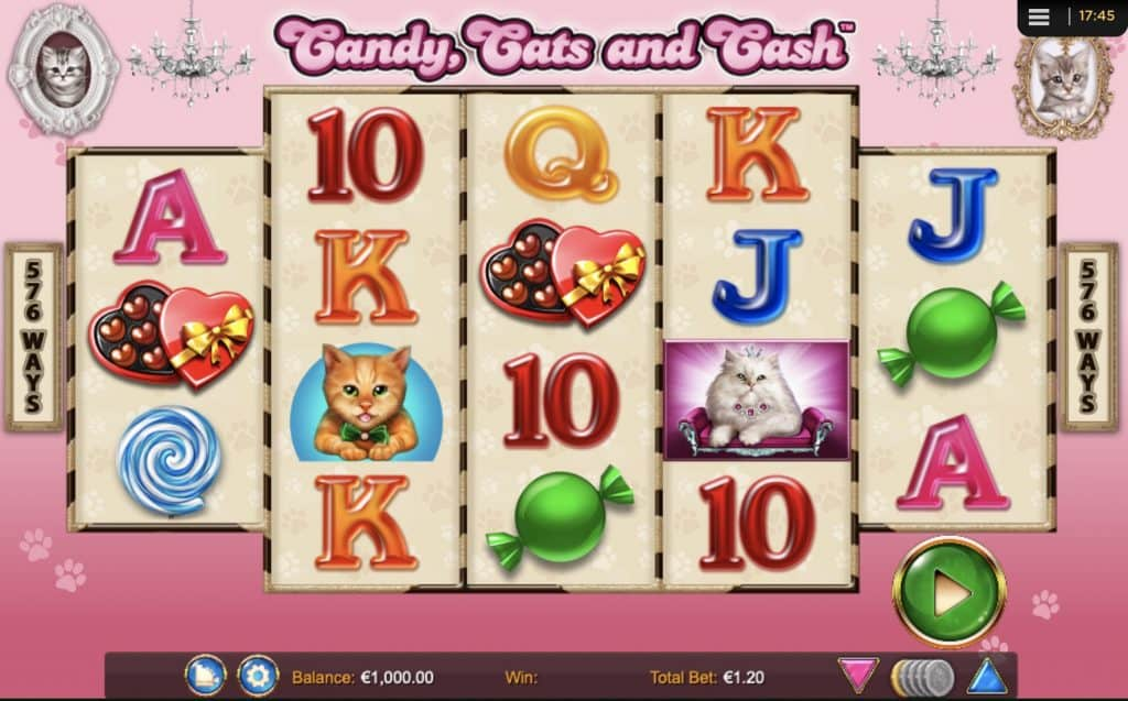 Candy, Cats and Cash Screenshot