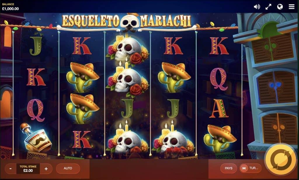 Esqueleto Mariachi Screenshot