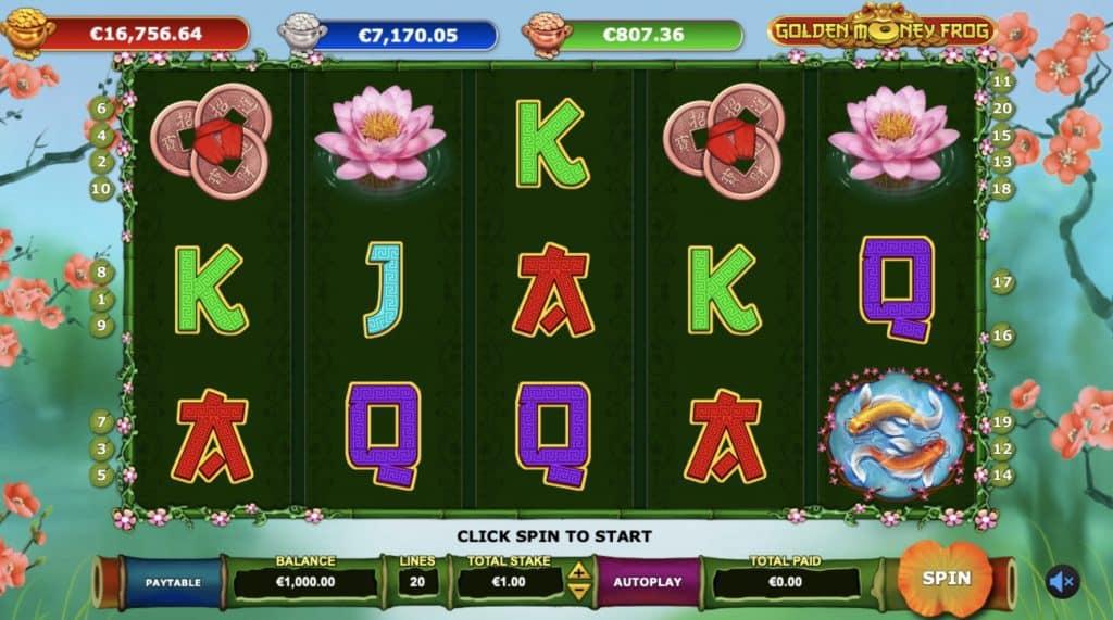 Golden Money Frog Screenshot
