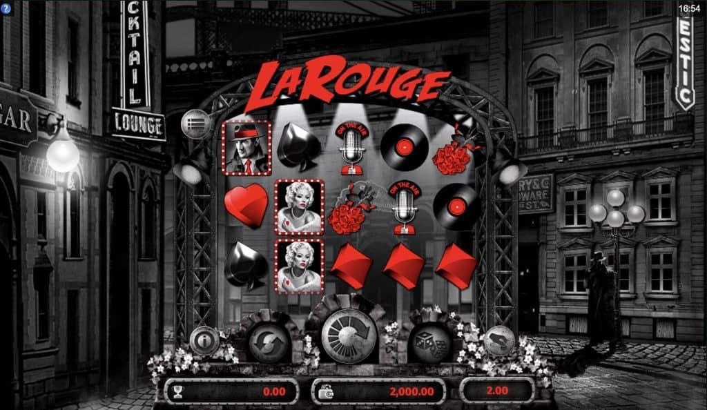 La Rouge Slot Screenshot