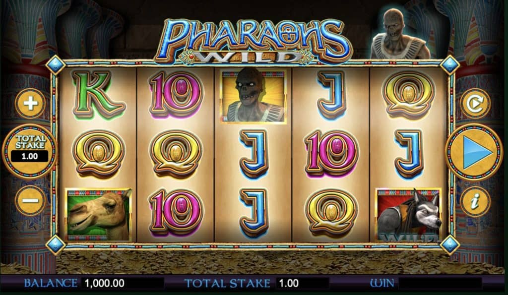 Pharaos Wild Screenshot