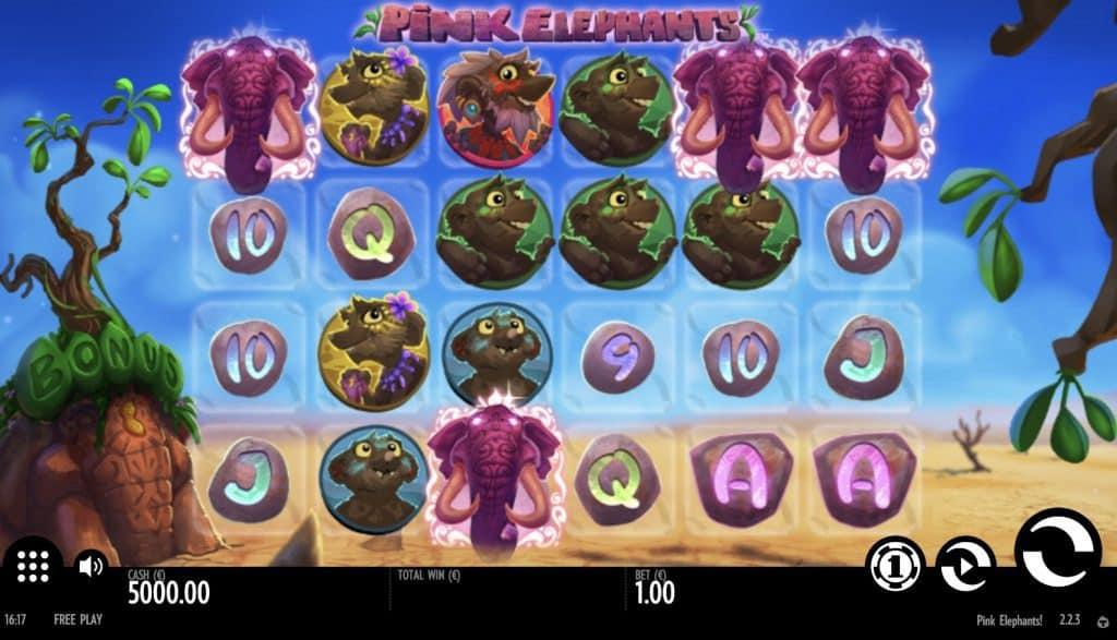 Pink Elephants Screenshot