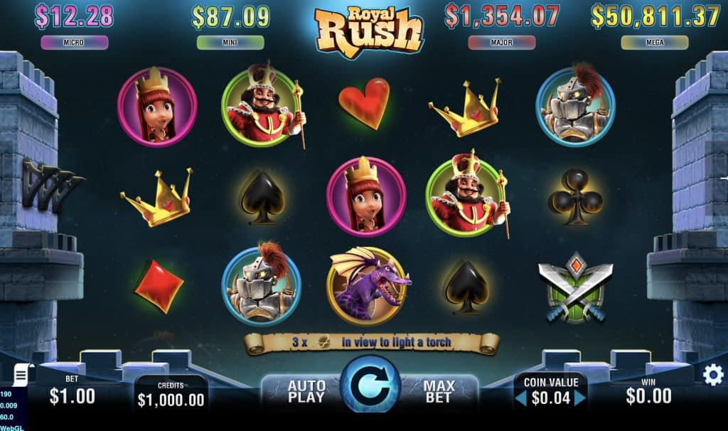 Royal Rush Slot Screenshot