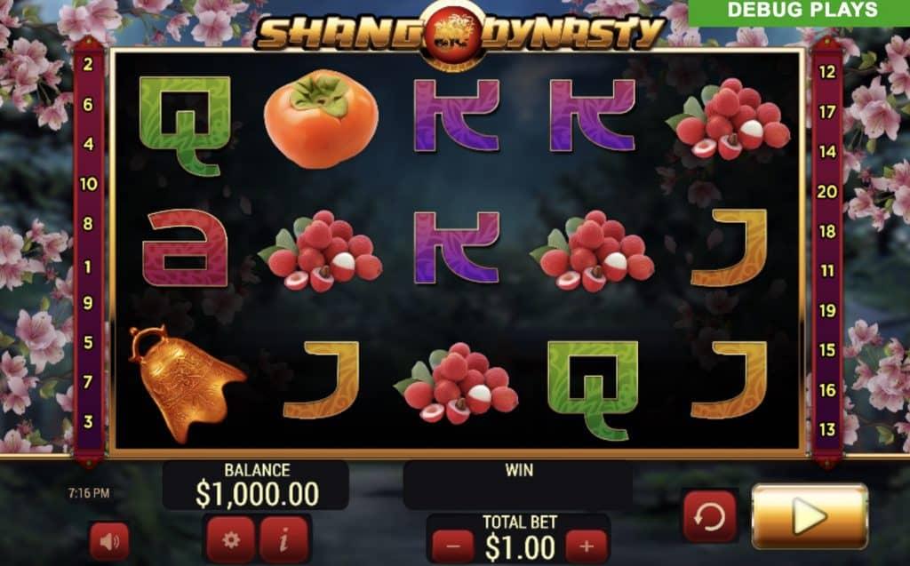 Shang Dynasty Slot Screenshot