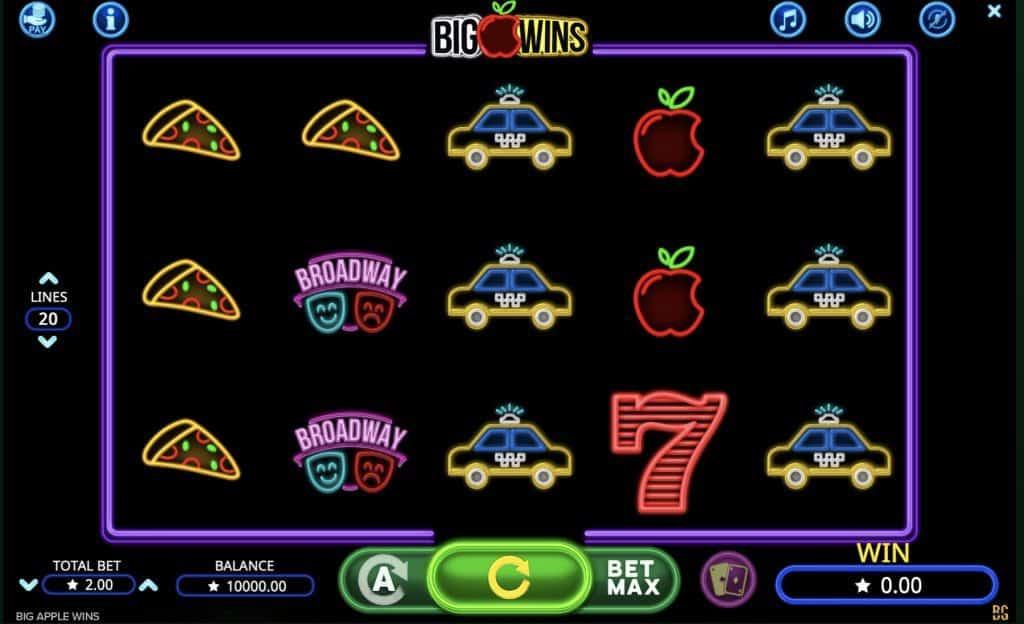 Big Apple Wins Slot Screenshot