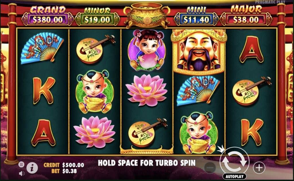Caishen's Gold Slot Screenshot