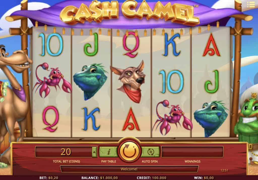 Cash Camel Slot Screenshot