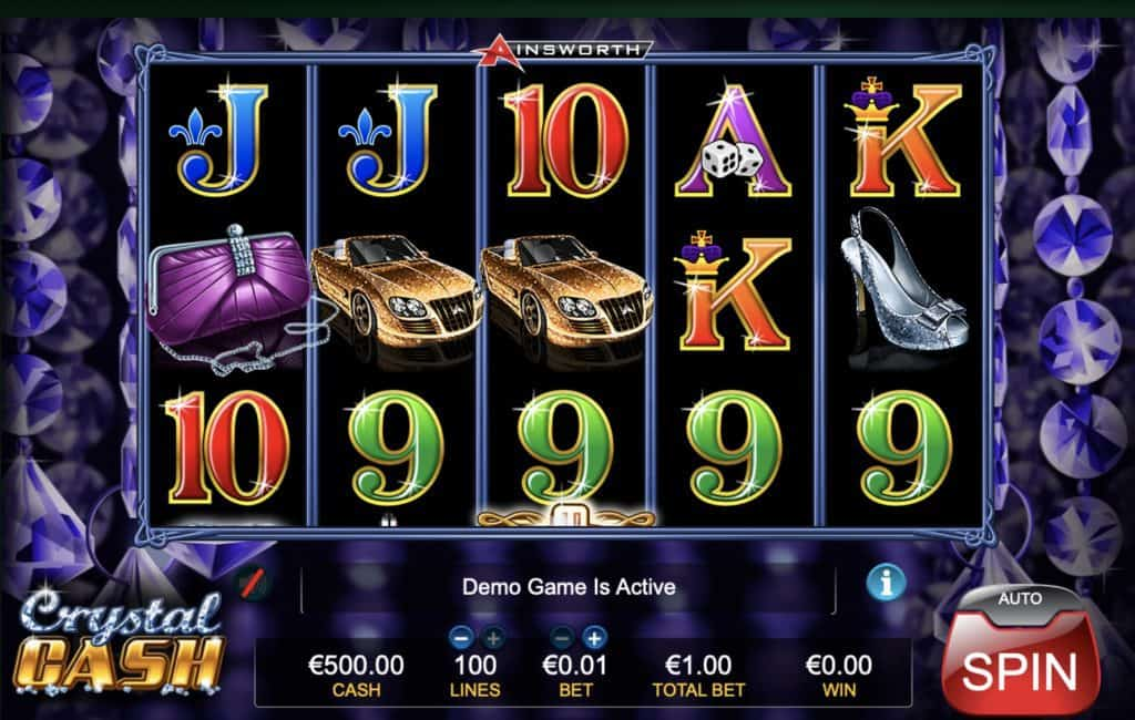 Crystal Cash Slot Screenshot