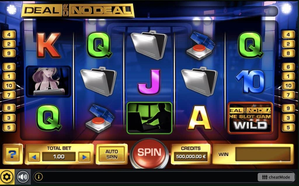 Deal Or No Deal - The Slot Game Screenshot