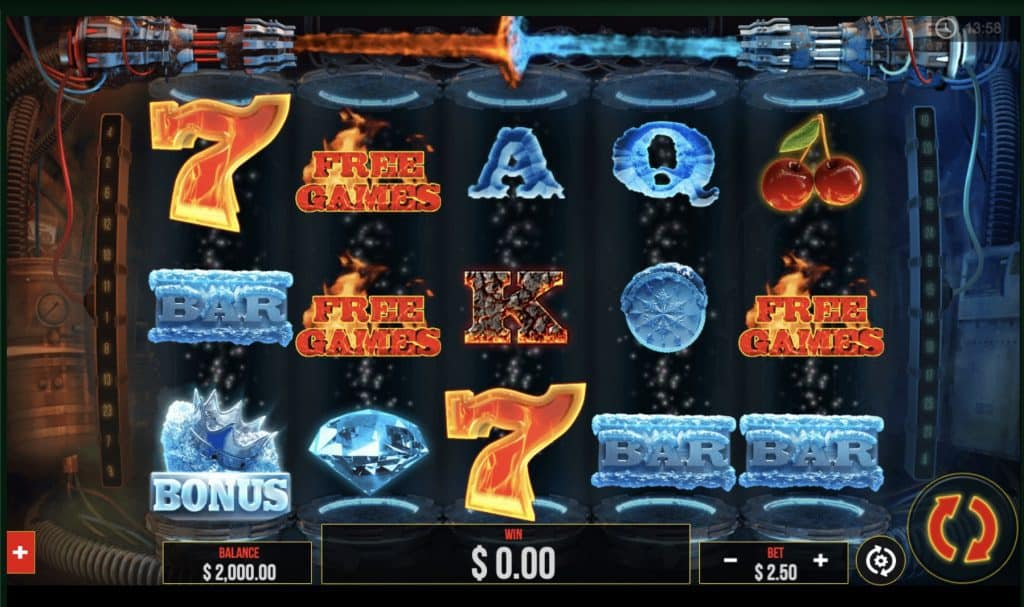 Fire vs Ice Slot Screenshot