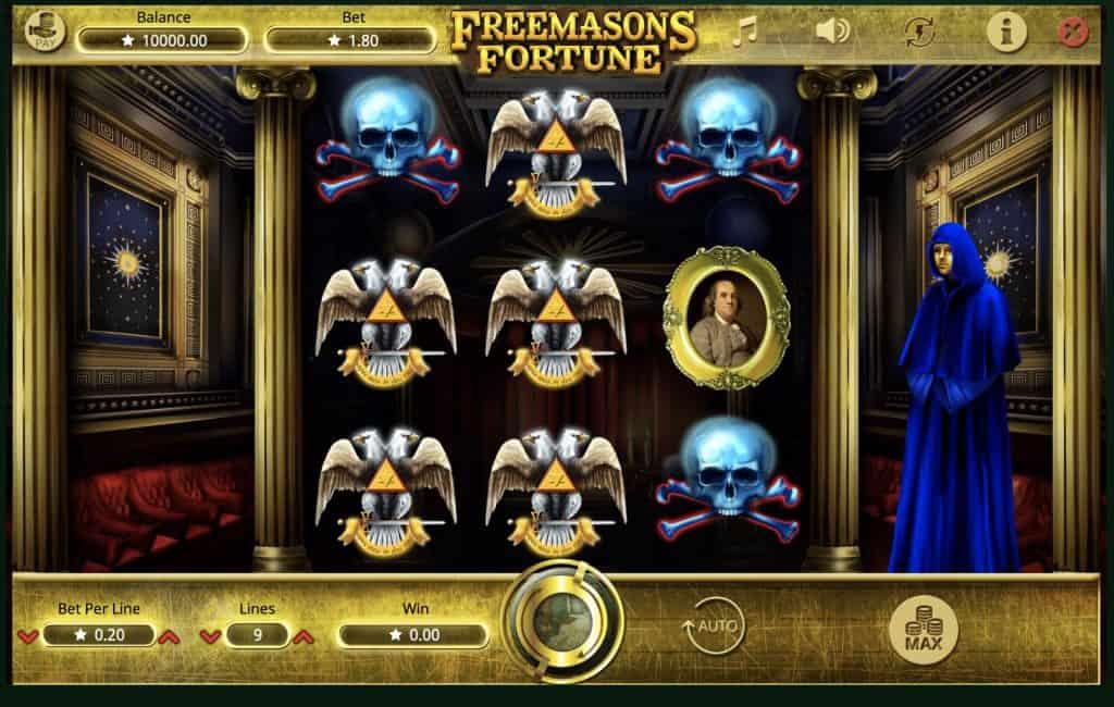 Freemasons Fortune Slot Screenshot