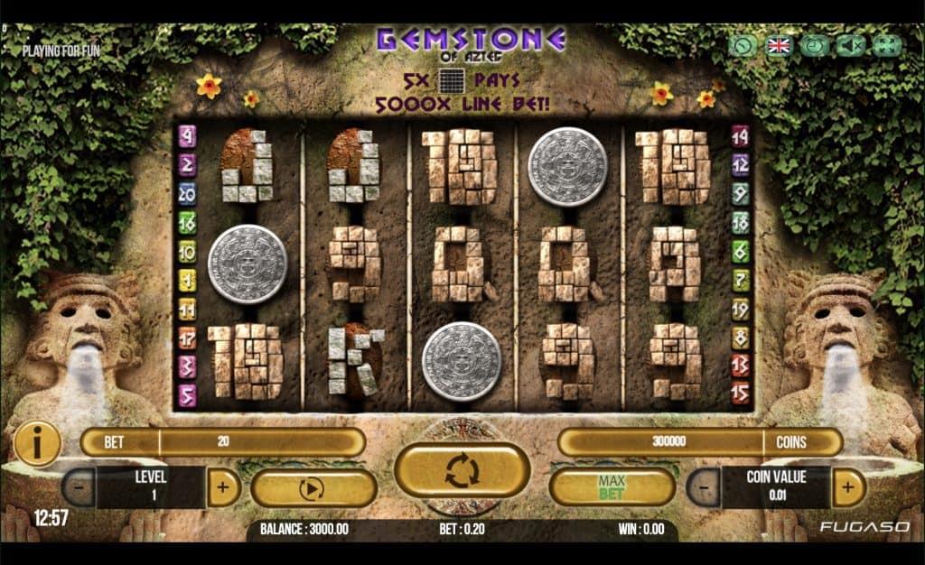 Gemstone of Aztec Slot Screenshot