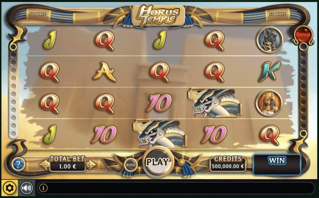 Horus Temple Slot Screenshot
