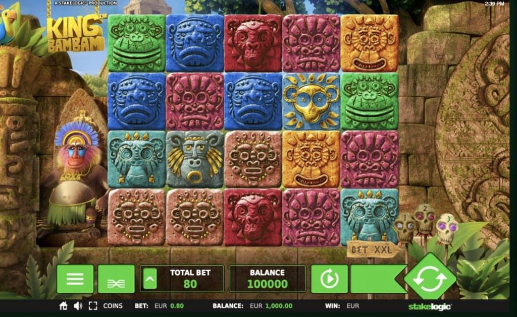 King Bam Bam Slot Screenshot