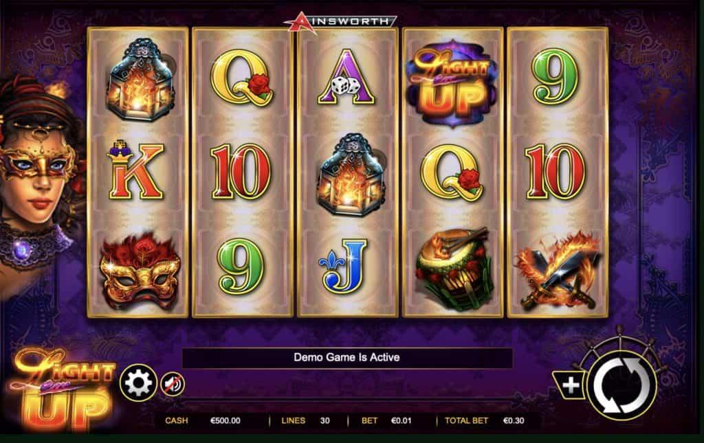 Light 'em Up Slot Screenshot