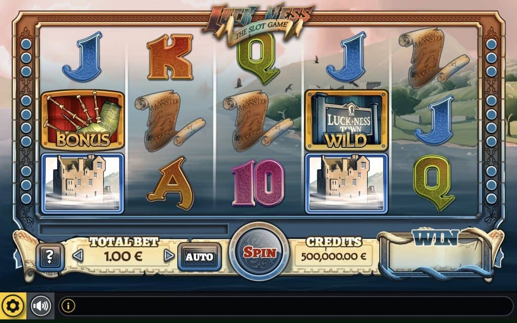 Luck Ness - The Dice Slot Screenshot