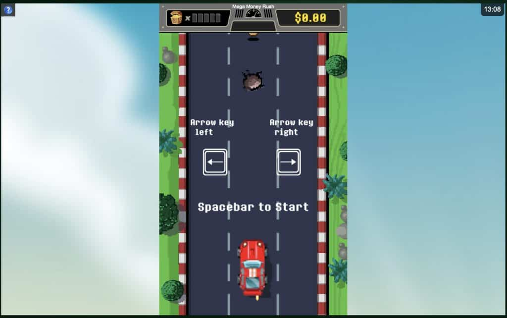 Mega Money Rush Slot Screenshot
