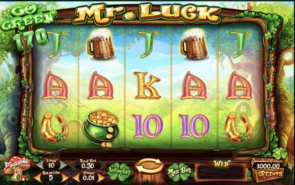 Mr Luck Slot Screenshot