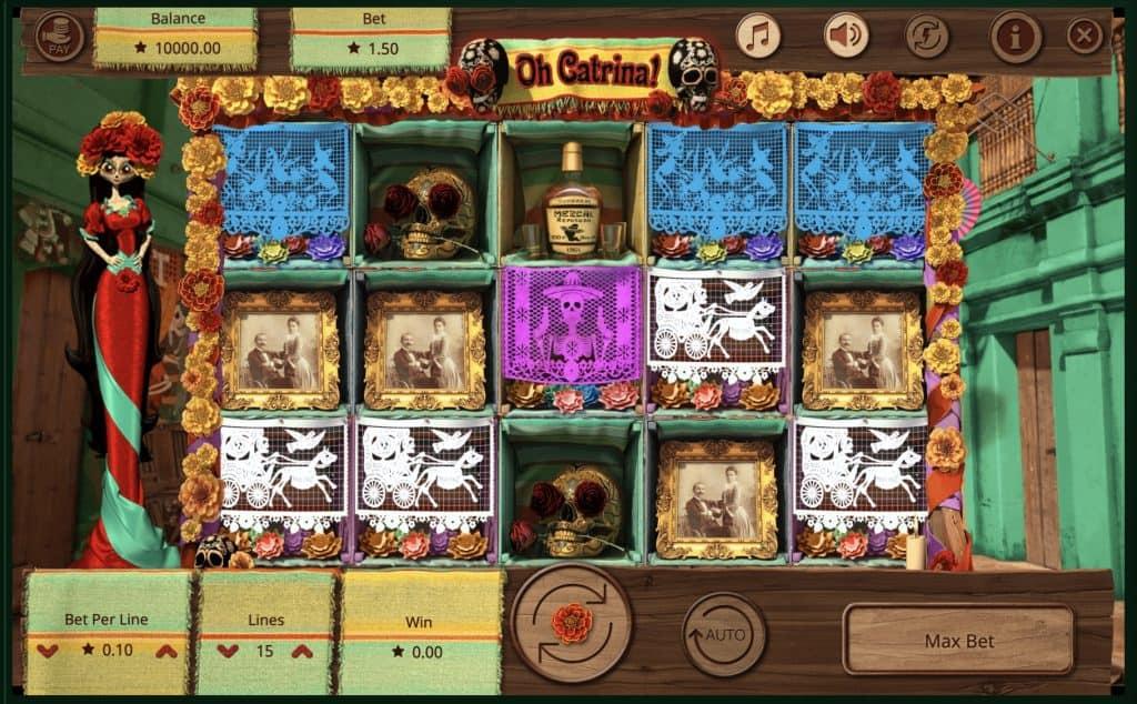 Oh Catrina Slot Screenshot
