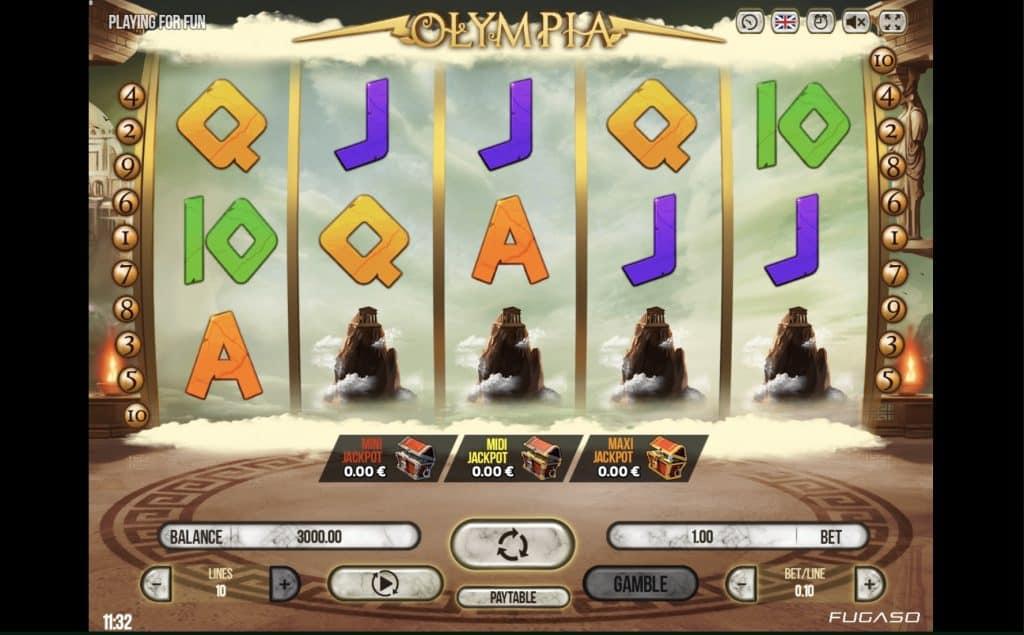 Olympia Slot Screenshot