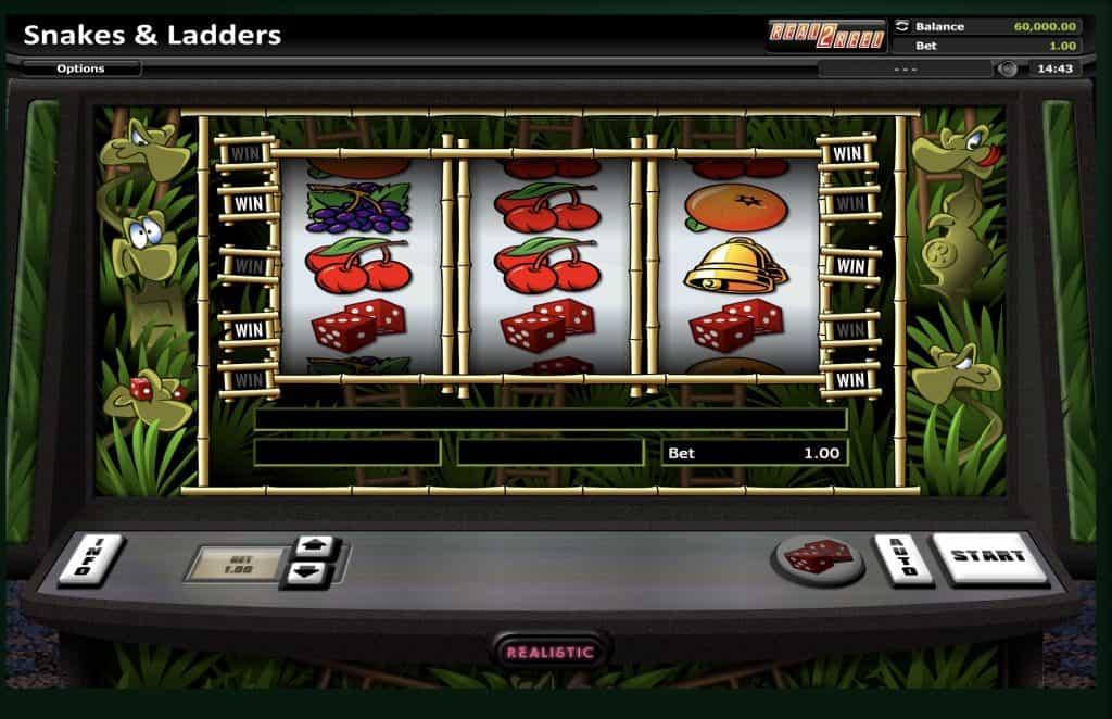 Snakes & Ladders Slot Screenshot