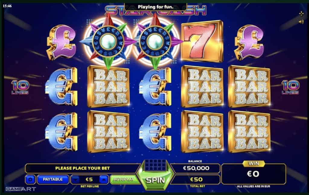 Star Cash Slot Screenshot
