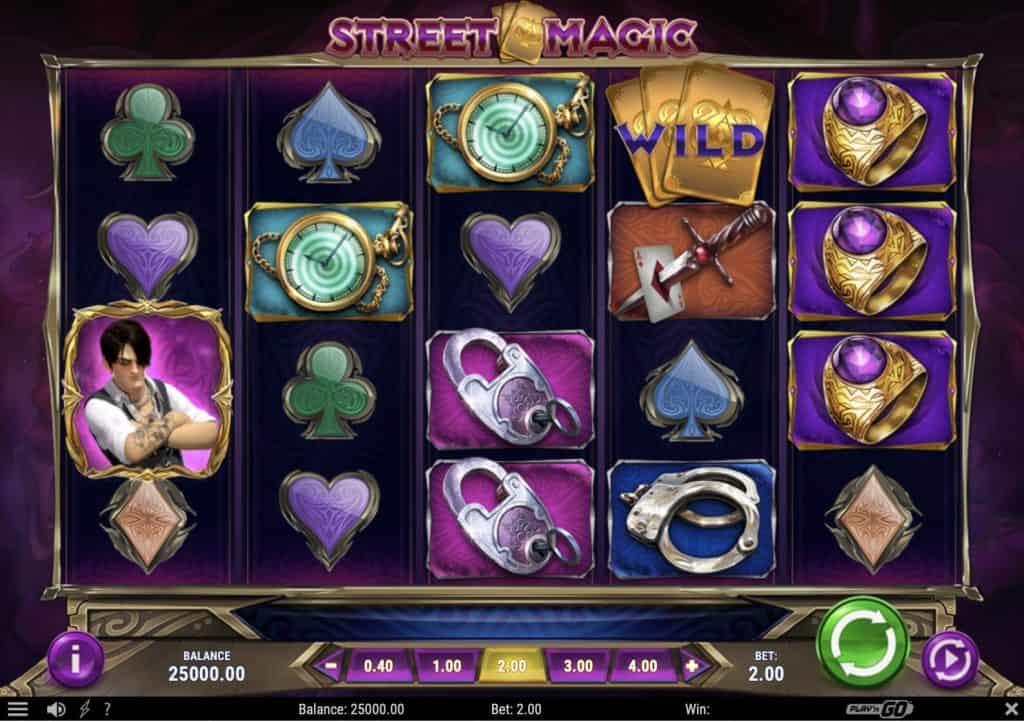 Street Magic Slot Screenshot