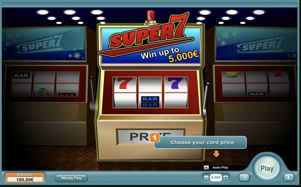 Super 7 Slot Screenshot