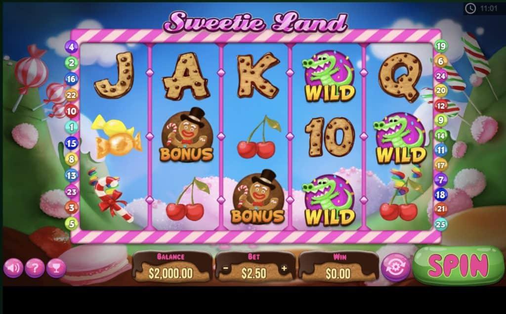 Sweetie Land Slot Screenshot