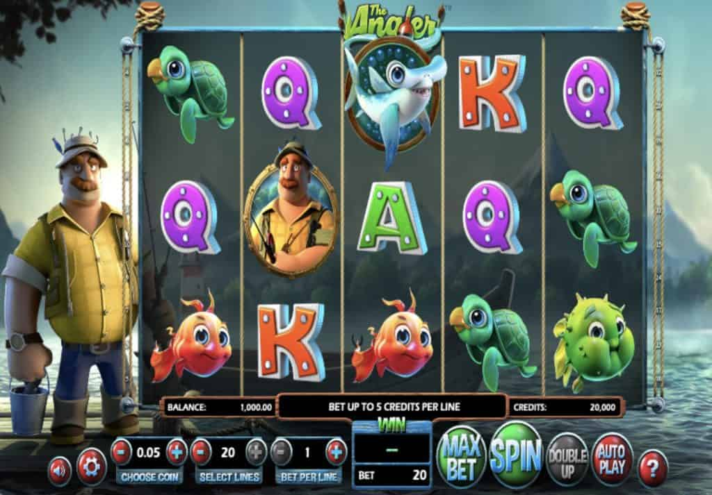 The Angler Slot Screenshot