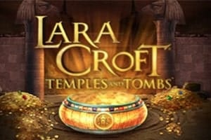 Lara Croft Temple and Tombs Slot Logo